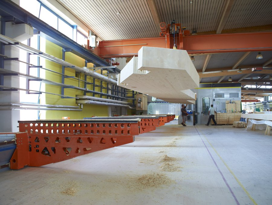 customer-specific cnc timber processing centre