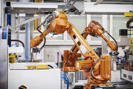 Integration of flexible industrial robots