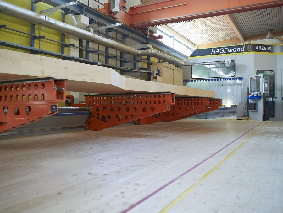automatic cnc timber processing centre